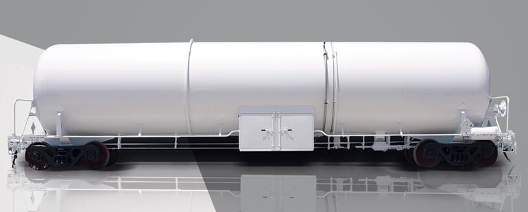 LIN/LOX/LAR AIR GAS TRANSPORT TANK